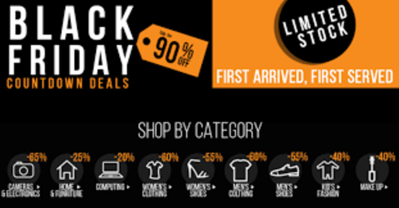 Jumia Black Friday S Begins This With Up To 80 Free Flight Tickets Europe Car More Giveaways